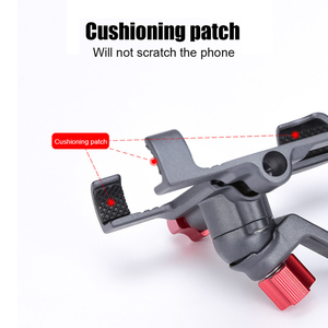 Image 2 - ARVIN Aluminum Alloy Motorcycle Bicycle Rearview Phone Holder For iPhone X 8P Universal Bike Handlebar Stand Sansung S8 S9 Mount