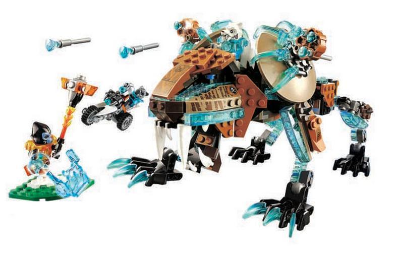 Bela señor Fangar es dientes de sable Chima 10293 Walker máquina de bloques de construcción urbana Sapce Wars Juguetes De niño para ladrillos para niños regalos