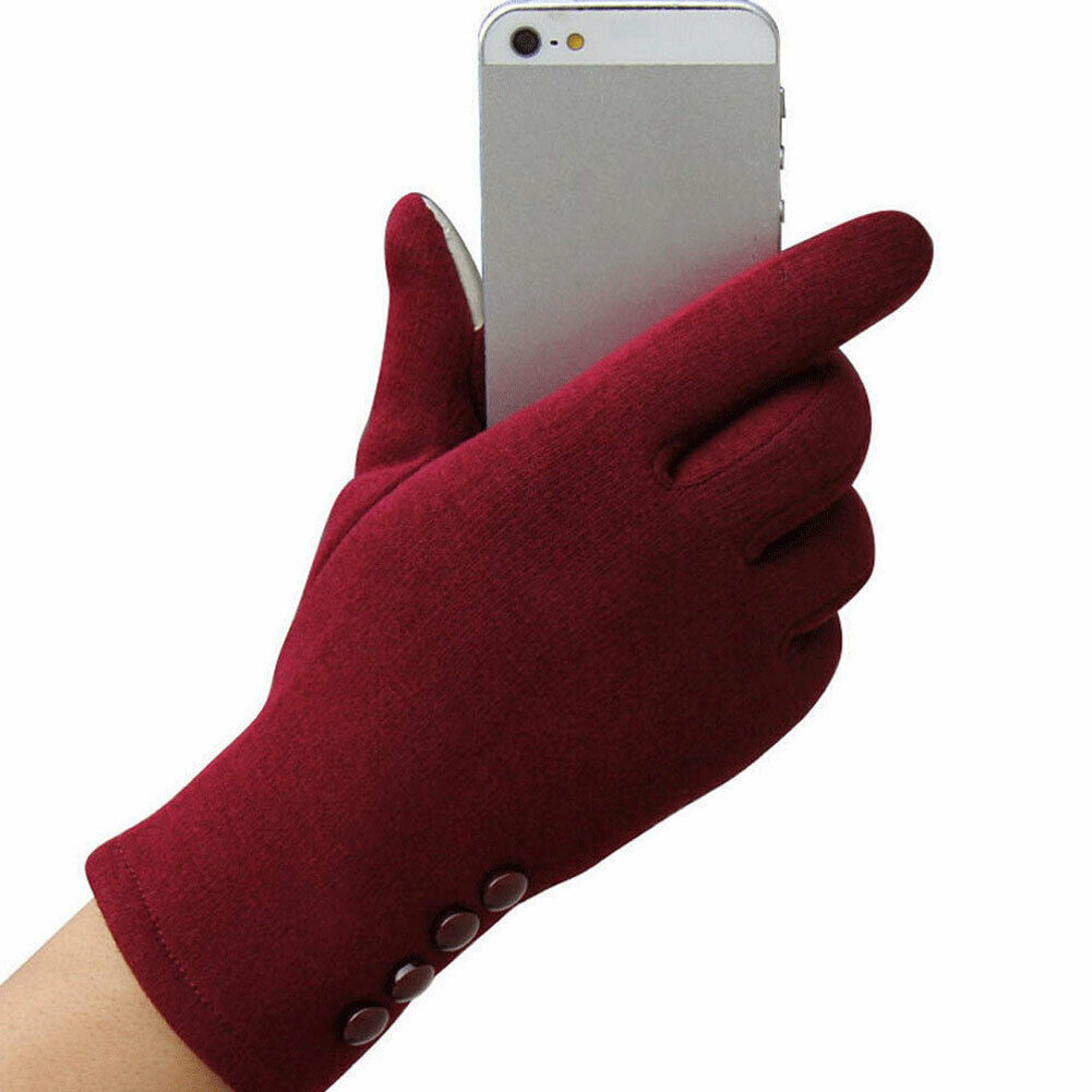 Women Winter Warm Touch Screen Gloves For Formal Occasions Tablet Full Finger Mittens Warm Groves