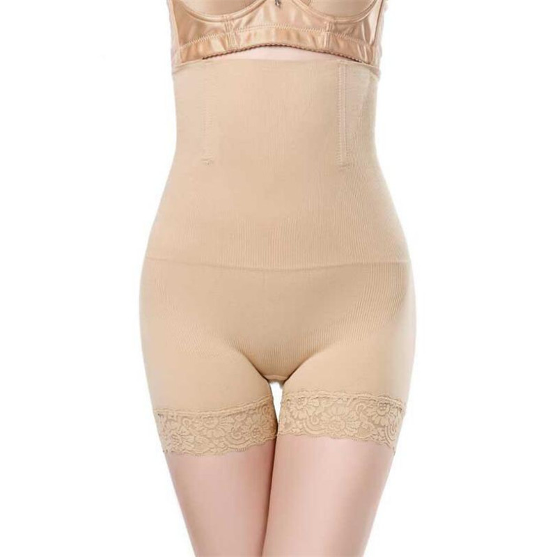 Inadice High Waist Control Panties Ladies Sexy Underwear Breathable Body Shaper Women Fashion Spandex Seamless Black Corset Belt