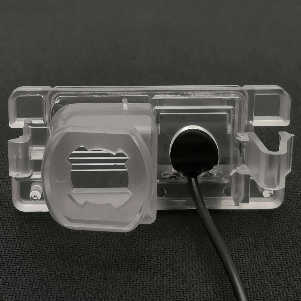 YIFOUM Fisheye lentille Starlight Vision nocturne caméra de vue arrière de voiture pour Mitsubishi Pajero Pinin TR4 iO amérique version/L200 Triton
