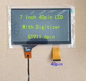 7inch Car Navigation Universal LCD 40pin 1024*600 With Capacitive Touch Screen NEW 165*100mm(China)