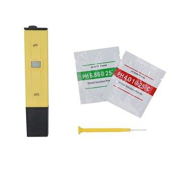 Pluma para prueba de Ph, medidor de Ph, medidor de Ph, Detector de valor de Ph, tanque de ácido Aqua, calidad del agua de los peces con compensación de temperatura Atc