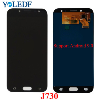 5.5 LCD J730F For Samsung Galaxy J7 Pro 2017 J730 Display J730F/DS J730FM/DS J730GM/DS Touch Screen Digitizer Assembly Pantalla image
