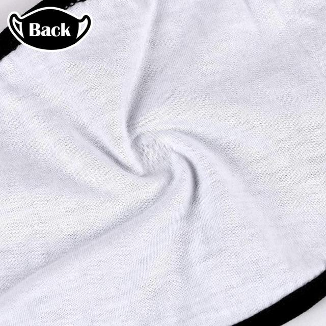 AMG Sports Car Logo Black Printing Washable Breathable Reusable Cotton Mouth Mask 2