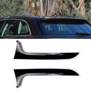 Для Audi A6 C7 Avant Allroad 2012-2018 заднее крыло боковые Стикеры для спойлера Накладка аксессуары для автомобиля Стайлинг