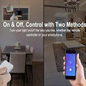 Image 4 - SONOFF D1 חכם דימר מיני Led אור Wifi מתג מרחוק בקר בהירות Ewelink/קול/433mhz RF האיחוד האירופי חכם/Google בית Alexa
