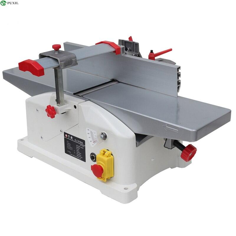 Home Desktop Wood Planing Machine, DIY Wood Planing Machine, Multifunctional, 220V 1280W Wood Planing Machine