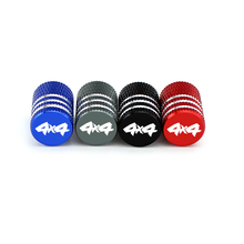 For 4X4 Logo Car Wheel Tires Valves Motorcycle Tyre Air valve Caps Airtight Cover for BMW E46 E90 E60 Suzuki Sx4 Kia Optima K5