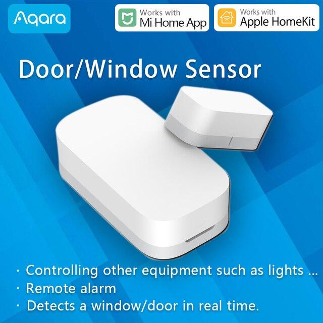 Aqara Door and Window Sensor Smart Zigbee Wireless work with Xiaomi Mi Home App compatible Apple HomeKit Siri Door open alarm