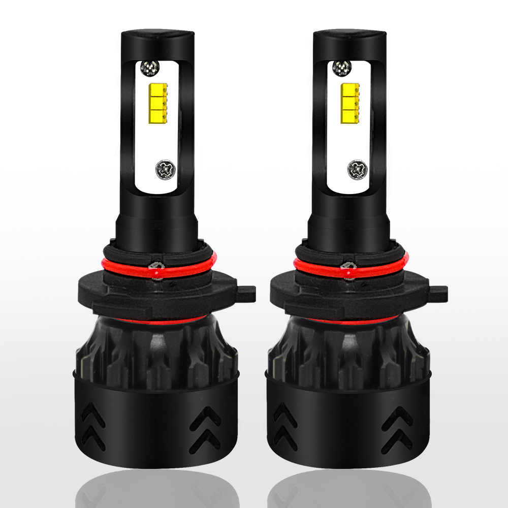 2PCS Mini-8 LED Headlight 6000K 9600LM 50W H1 H4 H7 H11 9005 9006 LED Car Headlight Bulbs 12V 24V Led Light