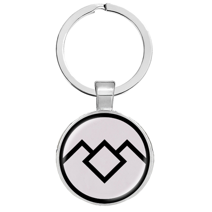 Twin Peaks Keychain David Lynch Movie Jewelry The Great Northern Hotel Room 315 Twin Peaks Key Tag Keychain Jewelry Llaveros image
