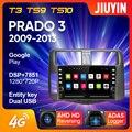 JIUYIN для Toyota Land Cruiser Prado 120 2004 - 2009 Автомобильный Радио Мультимедийный видео плеер навигация No 2din 2 din dvd