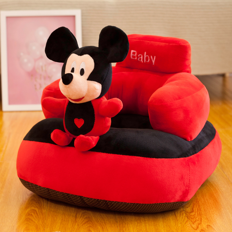 Cartoon Infants Learn To Sit On Children's Small Sofa Baby Sofa Chair Kindergarten Chair Tatami Anti-fall Washable