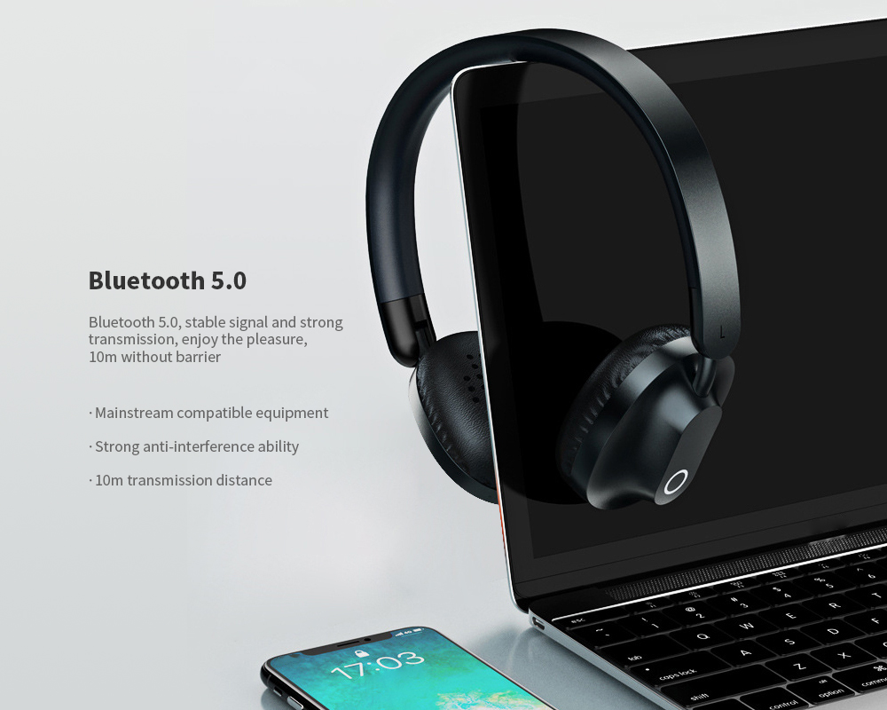 REMAX RB-550HB Bluetooth 5.0 Wireless Headphones 5
