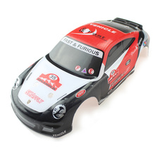 цена на RC Car Shell Body Remote Control Toy Spare Parts Fit for Wltoys Vehicle Toy Model Accessory Racing Car Shell