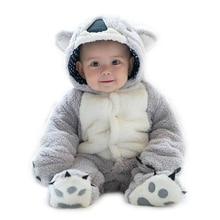 Infant Romper Baby Boys Girls Jumpsuit Newborn Clothing Hooded Toddler
