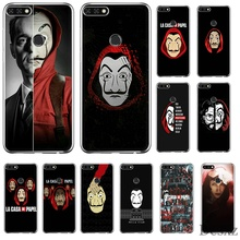 Phone Case For Huawei Y6 Y7 Y9 Mate 10 20 Pro Lite Nova 2i 3i 5i 2 3 4 Cover TV Series Money Heist House Of Paper Shell TPU