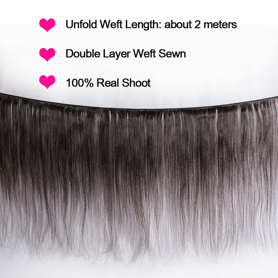Straight Hair 5x5 Lace Closure with Bundles Remy Brazilian Human Hair Weave Bundles with Closure Alibele 4 3 Bundles Closure