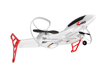 Parkten New wltoys XK X420 X520 RC Airplane 6CH 3D/6G Takeoff and Landing Stunt RC Drone Quadrocopter Remote Control Airplane