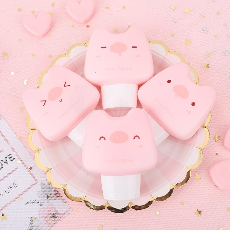 New Moisturizing Hand Cream Anti-chapping Cute Mini Hand Cream Animals Pig Cat Nourishing Hand Cream For Winter Hand Care
