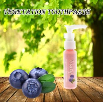 Toothpaste Whitening Teeth Toothpaste Stain Removal Whitening Toothpaste Fight Bleeding Gums Fresh Blueberry Bottled Toothpaste [neogen] dermalogy real fresh foam 160g blueberry korea cosmetic