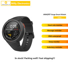 Global Version AMAZFIT Verge Smart Watch IP68 Waterproof GPS Smartwatch Multi-Sp