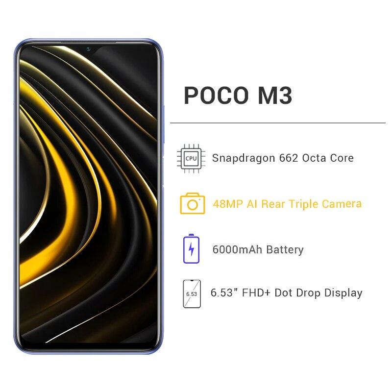 Global Version POCO M3 Smartphone  3