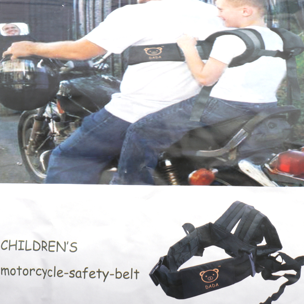 MagiDeal Motorcycle Children Seat Anti Fall Harness Straps Safety Suspenders