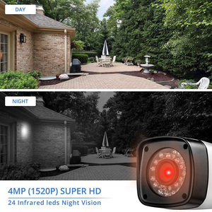 Image 4 - Fuers DVR מצלמה 4CH 8CH 1520P 4MP בית מצלמה אבטחת מערכת ערכת חיצוני IR עמיד למים וידאו מעקבים טלוויזיה במעגל סגור מערכת AHD HDMI