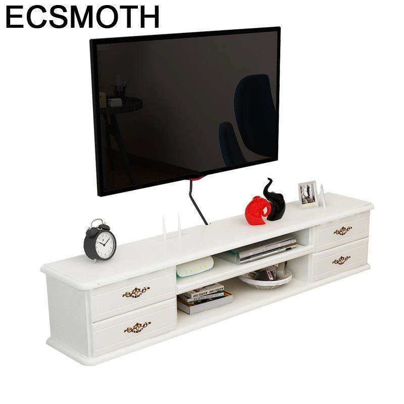 De Pie Modern Lemari Tele Sehpasi Meubel Soporte Para European Wood Table Monitor Meuble Living Room Furniture Tv Stand