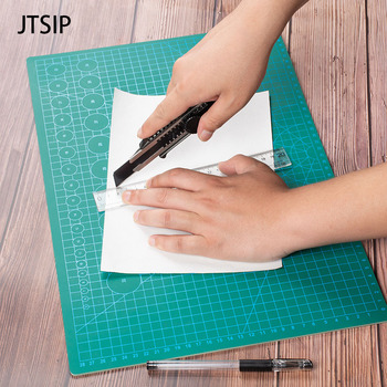 цена на JTSIP Cutting Mat A3 Cutting Board Pad Engraving Tool Double sided Self Healing Cut pads White Core Carving Pad Paper Cutter Mat
