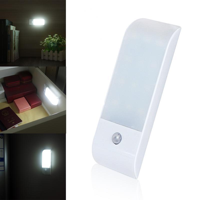 Sensitivity Motion Sensor Light USB Rechargeable Cabinet Wall Night Light Wall Lamp Motion Sensor Night Light Dropshipping