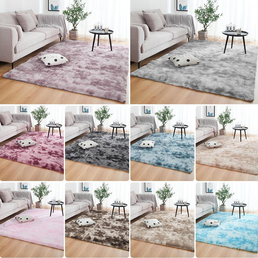 Us 2 39 40 Off Living Room Bedroom Rug Antiskid Soft140 Cm 200 Carpet Modern Mat Purple Khaki Pink Light Gray 10color In