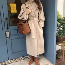 Женская зимняя Элегантная модная верхняя одежда с длинным рукавом