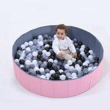 Детский блестящий мяч, ямы, складной мяч, бассейн, Океанский шар, игрушечный манеж, моющийся, складной забор, сухой бассейн с шариками, детский подарок на день рождения