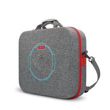 Bolsa de armazenamento dura eva caso de transporte para ns switch console fitness anel