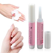 2g nail glue round bottled glue Nail Art and Nail Tools Manicure tools TSLM1 cheap Nail Art Glue Acrylic Glue Wholesale Dropshiping