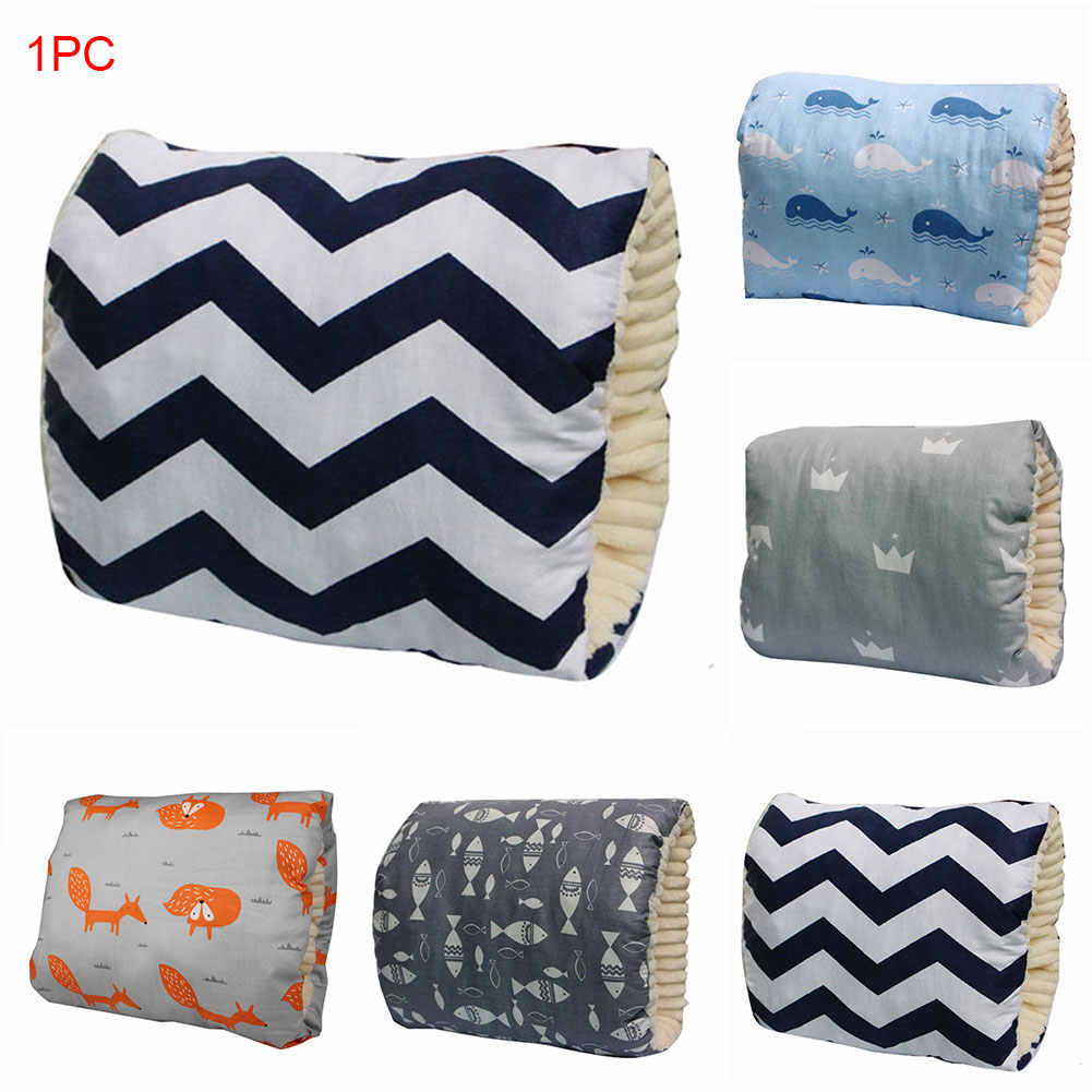 Baby Breastfeeding Pillow Arm Providing Support Slidable Thicken Soft Comfortable Breastfeeding Nursing Pillow for Babys Head and Neck Support Reducing The Babys Gas and Reflux Little Fox