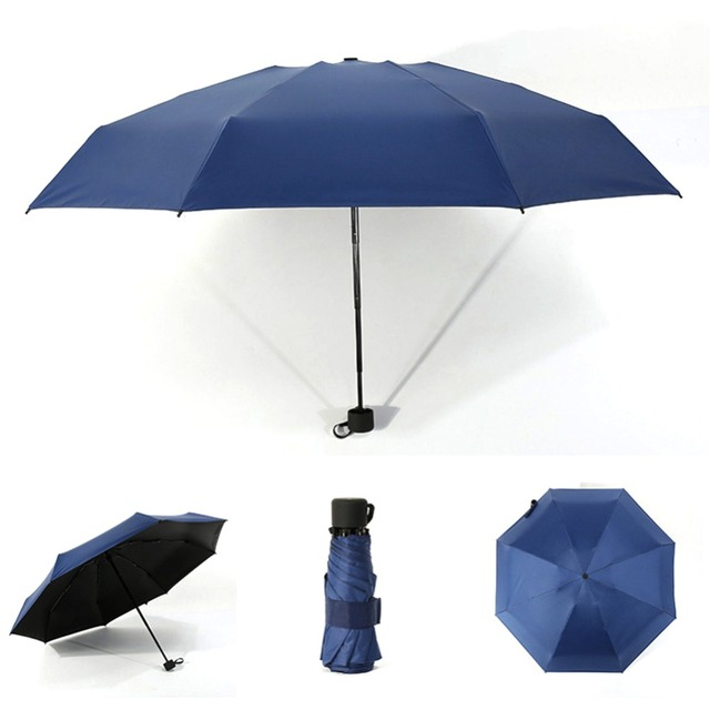 Foldable Umbrella Mini Umbrella Candy Color Traveling Rain Gear Rainy Day Pocket Umbrella Mini Folding Sun Umbrellas Travel Umbr 6