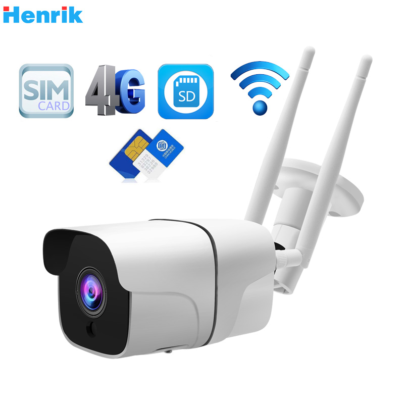 HD 3MP GSM 3G//4G SIM Card Detection Security IR Night Vision IP Camera