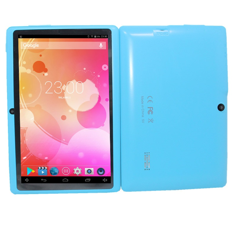 7 Inch Q88  Android 4.4.2 Allwinner A33   512GB/8GB  1024x 600 With Dual camera  Quad-Core Processor With 1.2GHz