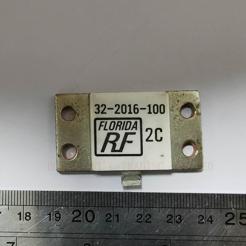 800Watts 100ohms RF TERMINATION 32-2016-100 FREQUENCY DC-0.5GHZ BEO FLANGE HIGH POWER RESISTIVE DUMMY LOAD
