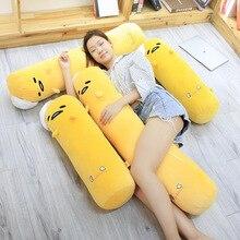 цена на 68/110cm Gudetama lazy egg Long Pillow Plush Toy Eggs jun Egg yolk brother large doll boy girl stuffed toy for Children gift