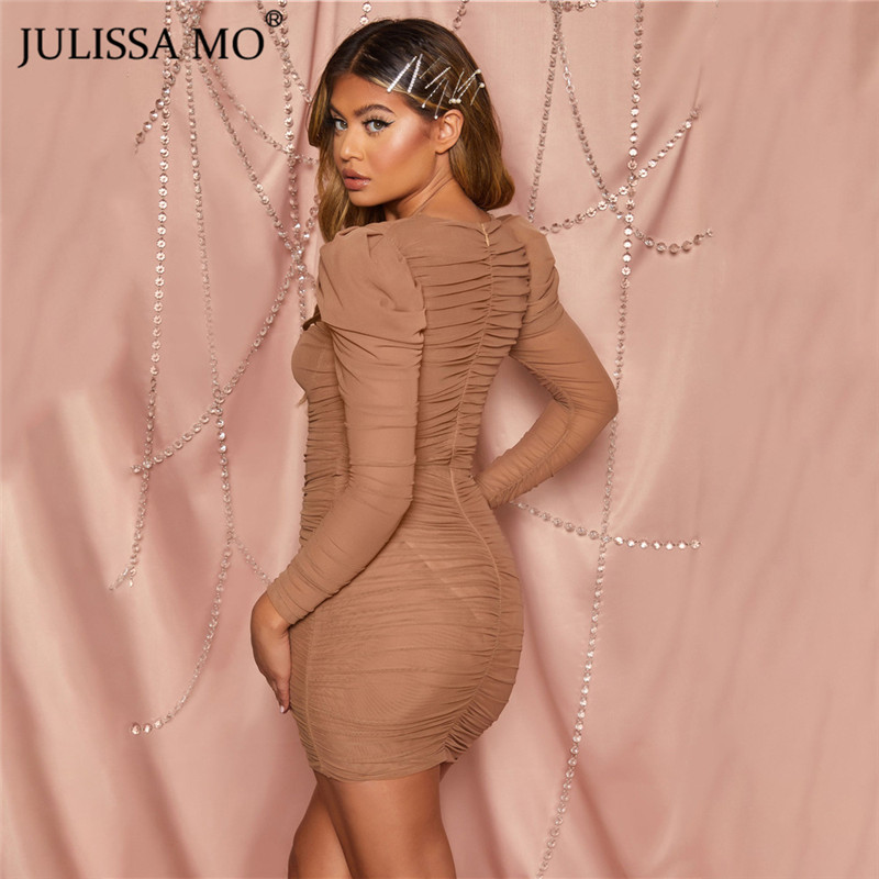 JULISSA MO mesh bodycon dress 2020 spring party dress (15)