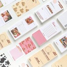 60 pçs/pçs/lote almofadas de memorando notas pegajosas um monte de diversão na vida papel diário scrapbooking adesivos escritório escola papelaria bloco de notas