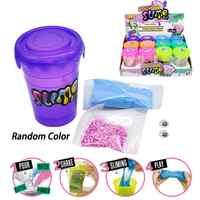 Diy glitter slime magia fazer kit de enchimento de pó de argila de polímero para suprimentos slime adicionar agitação de água putty conjunto anti-stress brinquedos presentes