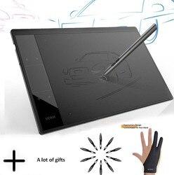 Tableta gráfica de dibujo VEIKK A30 para enseñanza y aprendizaje en línea, almohadilla de dibujo Digital de área activa grande de 10x6 pulgadas para artistas