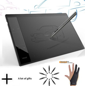 VEIKK A30 Graphic Drawing Tablet for Online Teaching & Learning 10x6 inches Large Active Area Digital Drawing Pad For Artists(China)
