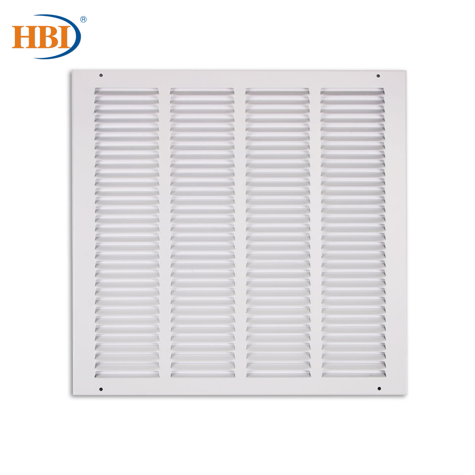 "10PCS W16"" X H16"" Steel White Finished Return Air Grilles Ceiling Air Vent Ceiling Duct Cover Air Register Ventilation Grilles"